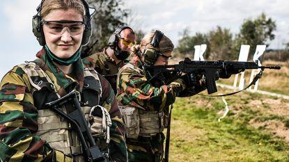 Dril, spurten, camouflage, leren schieten én schoonmaken: deze maand is prinses Elisabeth rekruut in Elsenborn