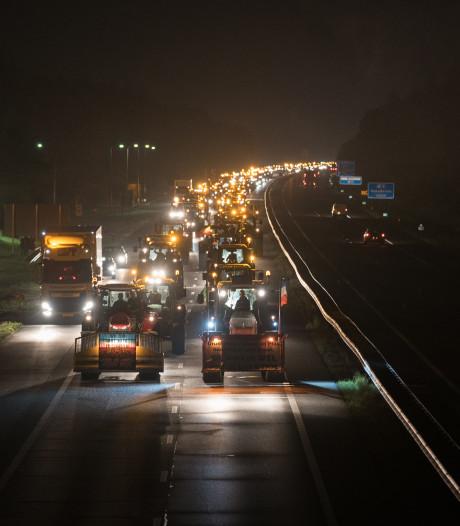 Drukte op wegen in Oost-Nederland voorbij