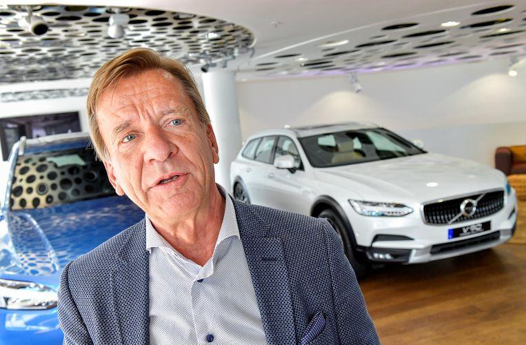 Volvo-topman Hakan Samuelsson heeft aangekondigd alleen nog elektrische en hybride auto's te bouwen. Beeld REUTERS