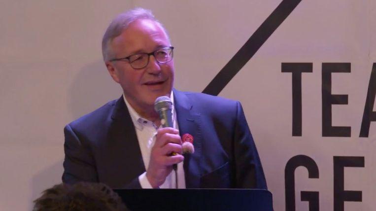 Lijsttrekker Rudy Coddens (sp.a).