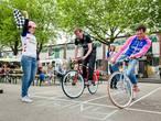 De langzaamste fietser wint: finale NK Slowbiking in Tilburg