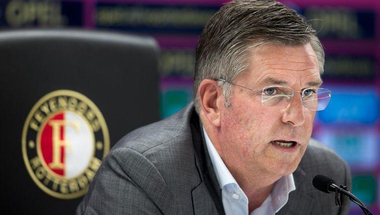 Martin van Geel, technisch directeur van Feyenoord. Beeld anp