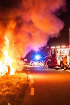 Amersfoorter getuige van brandende auto die hard over A1 reed