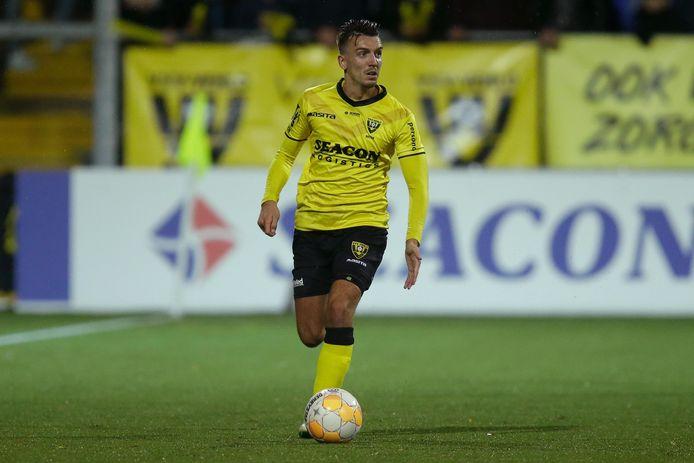 Moreno Rutten als speler van VVV.