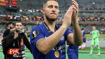 Hazard wordt gespot in Marbella, vooral truitje dat hij op foto toont krijgt aandacht op social media