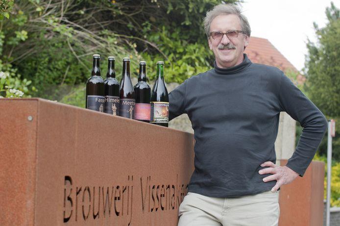 Rudy Scheys van brouwerij Vissenaken houdt van het kleinschalige van het brouwen.
