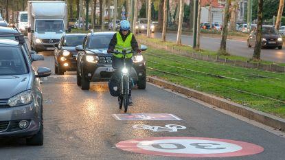 Parallelweg van Lambermontlaan wordt fietsstraat