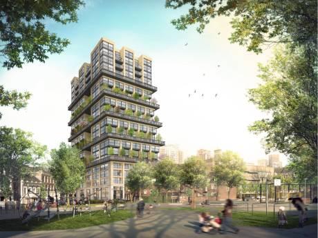 Huiswerk voor Rotterdam over nieuwe luxe woontoren: 'Wat doet-ie met de wind?'