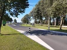 Wegversmalling in Numansdorp maakt plaats voor verkeersveiligere oversteekdrempel