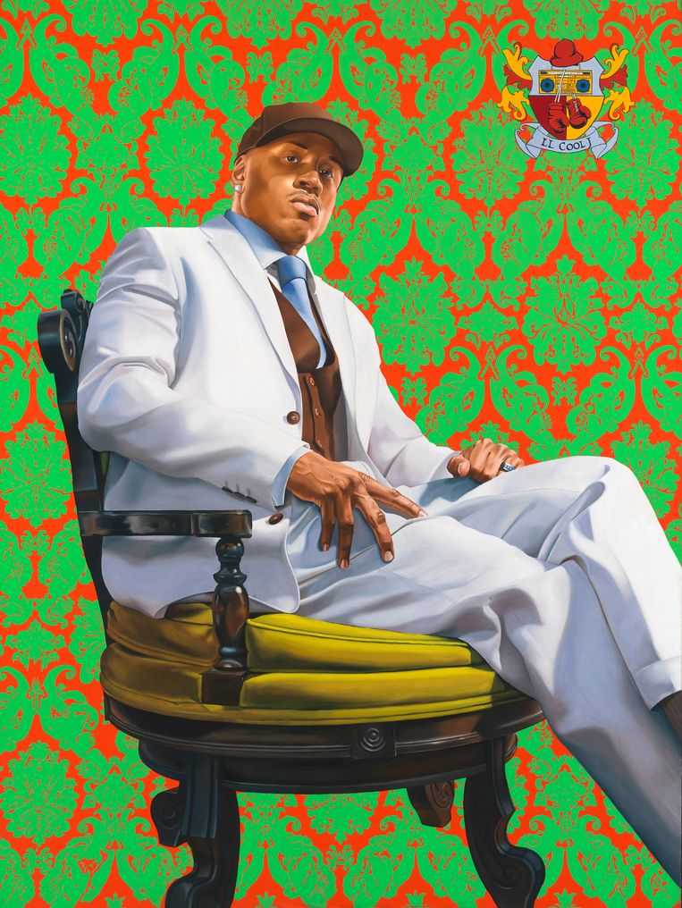 LL Cool J door Kehinde Wiley, 2005 Beeld null
