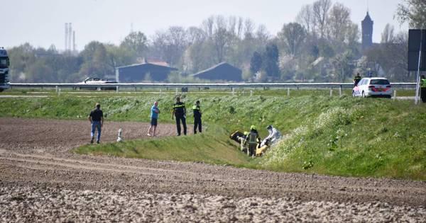 Dode bij ongeval in Westdorpe.