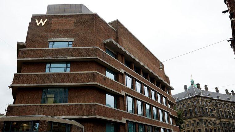 Het voormalige PTT -antoor tussen de Spuistraat en Nieuwezijds Voorburgwal, dat in 2015 werd verbouwd tot W Hotel. Beeld anp