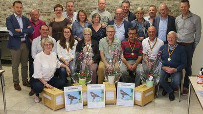 Mario Van De Velde is clubkampioen bij 'De Vriendschapsvink'
