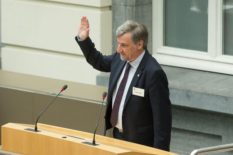 Geen Septemberverklaring, wel een openingstoespraak van voorzitter Wilfried Vandaele (N-VA).