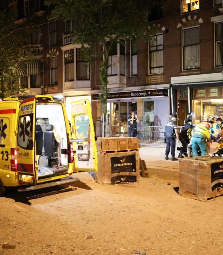 Man zwaargewond na val van balkon Frederik Hendriklaan, hekje vermoedelijk afgebroken