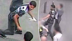 Antwerpse politie vraagt hulp in zoektocht naar jongeman die vol blikje tegen hoofd inspecteur gooide