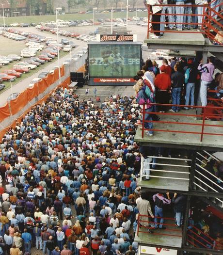 Feyenoord overweegt schermen in de Kuip bij uitwedstrijden
