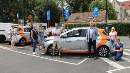 Elektrische deelauto's doen intrede in Ronse
