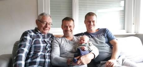 Familie De Muynck viert een viergeslacht