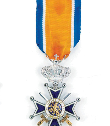 Conrector Culemborg wordt Ridder in de Orde van Oranje-Nassau