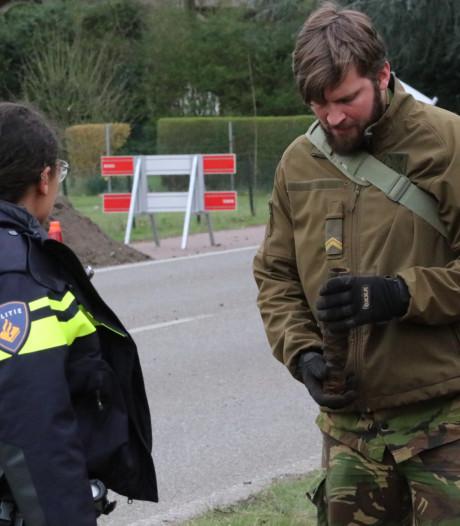 Opluchting in Apeldoorn Noord na bomalarm: geen granaat maar oud stukje pijp
