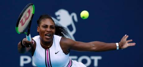 Serena Williams trekt zich terug vanwege knieblessure