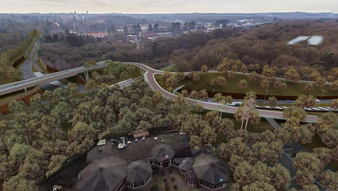 De westelijke rondweg moet vanaf de Stichtse Rotonde naar de Amsterdamseweg lopen.