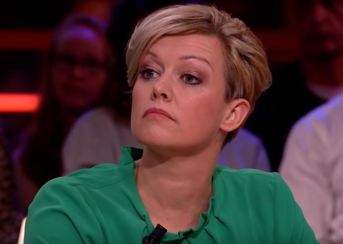 Jenny Douwes bij RTL Late Night.