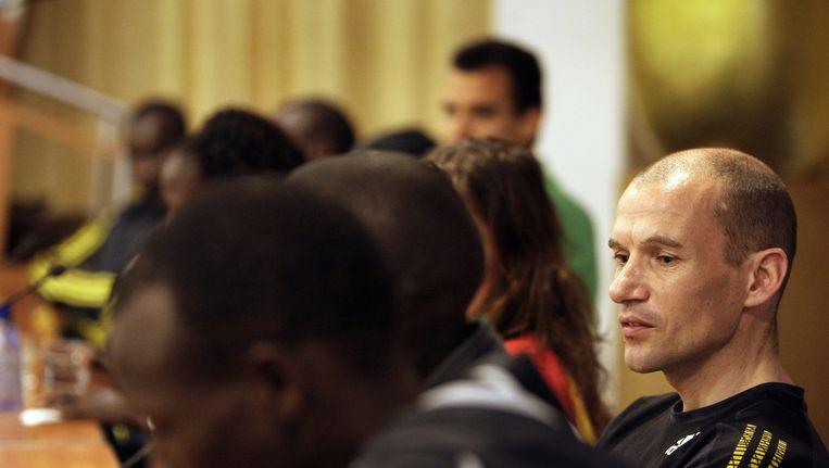 Oud-atleet Luc Krotwaar twijfelt aan het Keniaanse wereldrecord Beeld anp