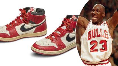Basketschoenen van Michael Jordan brengen absoluut recordbedrag op