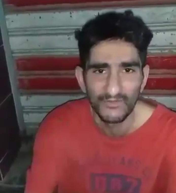 Jimmy Aldaoud vertelt in een filmpje over zijn uitzetting naar Irak.