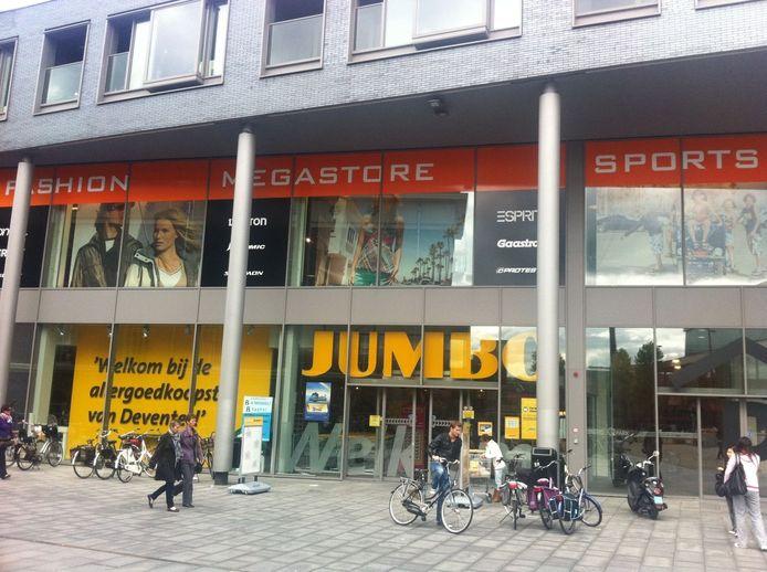 De Jumbo op het Boreelplein in Deventer.