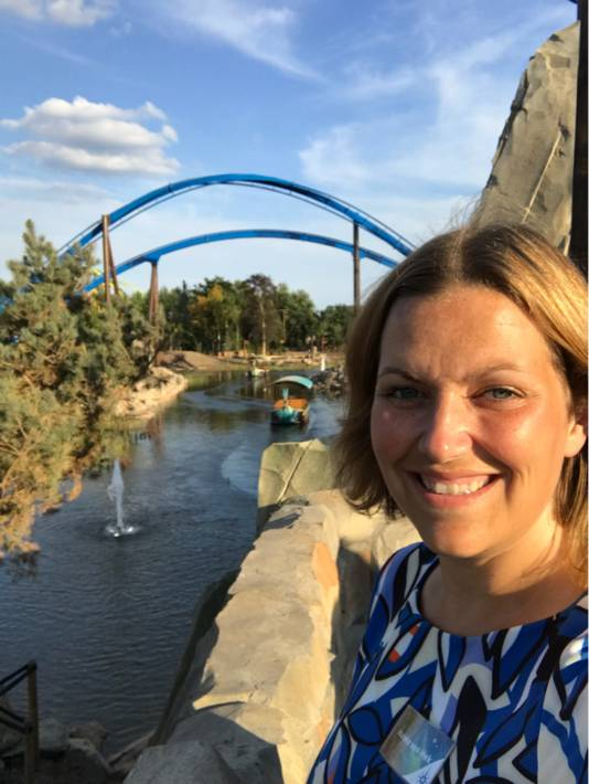 Marieke van Hek is manager attracties in attractiepark Toverland.