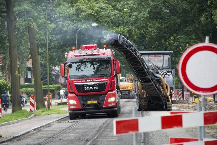 De werkzaamheden op de Arnhemseweg duren nog tot en met vrijdag.