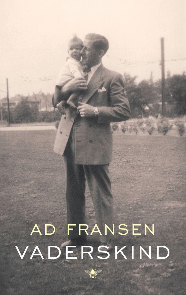 Vaderskind. het boek van Ad Fransen Beeld Cover boek.