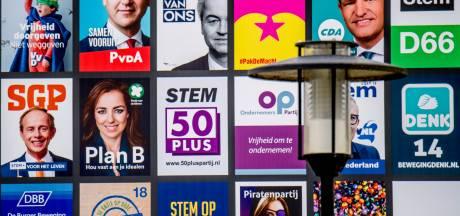 Eindhoven gaat voor verkiezingen dit jaar nog traditioneel posters plakken
