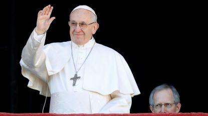 """Paus in kerstboodschap: """"Verscheidenheid van mensen is rijkdom, geen gevaar"""""""