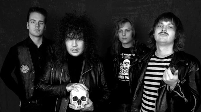 De Zweedse rockband The Dahmers