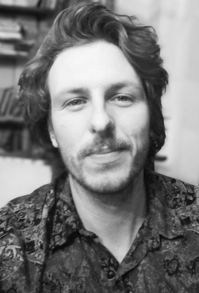 Joey Hodde is geodataspecialist, oprichter van Café de Ceuvel en vertegenwoordiger van organisatie Sail to the COP. Beeld -