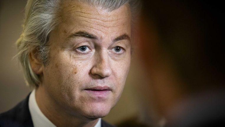 Geert Wilders plaatste de tweet maandagochtend Beeld anp