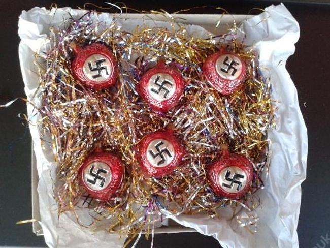 Online Te Koop Originele Nazi Kerstballen Bizar Adnl