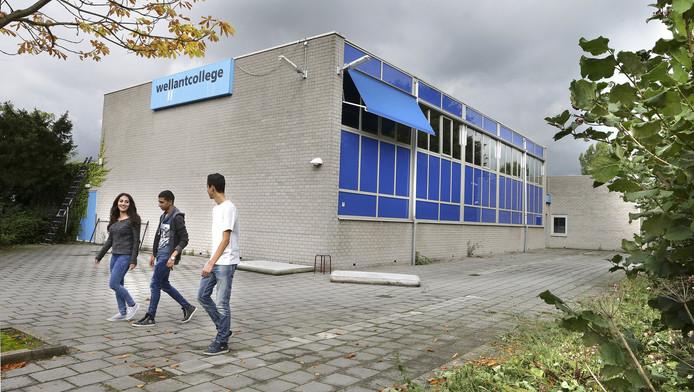 Het oude Wellantcollege in Gorinchem