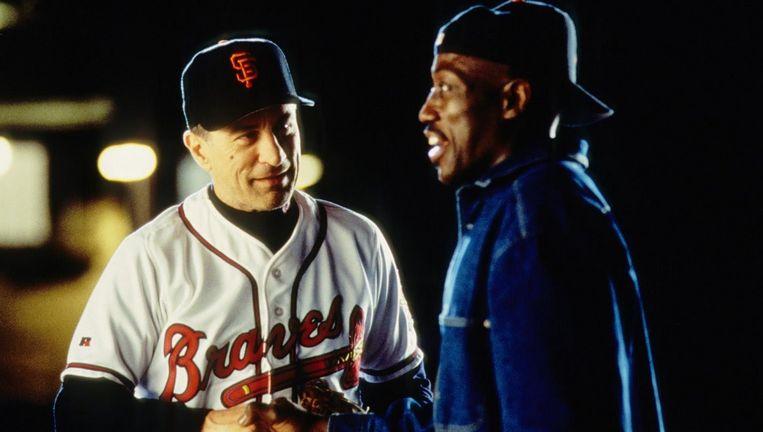 Robert De Niro en Wesley Snipes in The Fan. Beeld