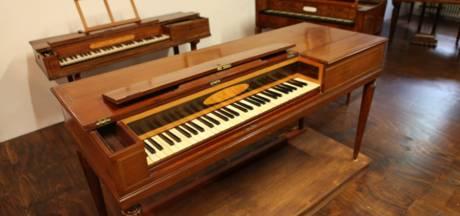 Piano van koningin Marie Antoinette te zien in Zutphen