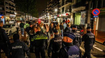 """Maatregelen in Knokke-Heist blijven voorlopig uit na rustige nacht: """"We kunnen dergelijke politiemacht wel geen weken blijven aanhouden"""""""