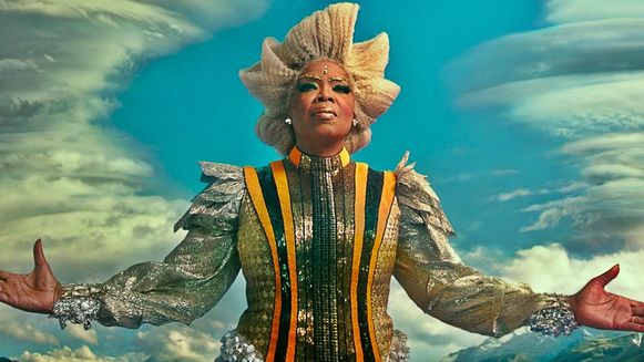 Oprah in de film 'A Wrinkle In Time'.