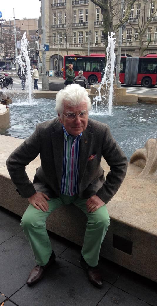Gerard Cox in Amsterdam: 'Blij dat ik straks weer naar Rotterdam kan.'