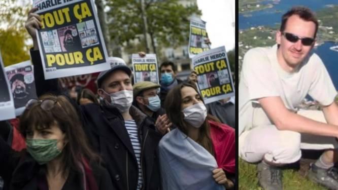 Tienduizenden Fransen op straat om onthoofde leerkracht te eren