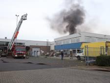Grote brand bij kringloopwinkel in Uden