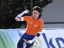 Kai Verbij soeverein naar titelprolongatie op EK sprint
